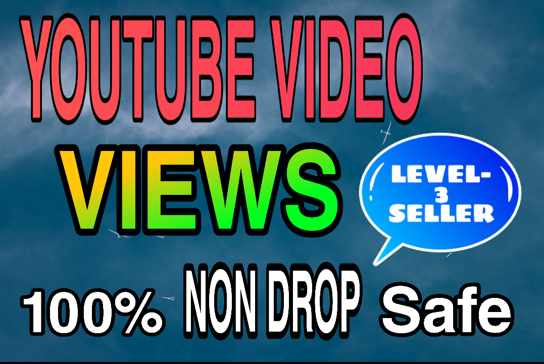 High Quality & Non Drop YouTube Video Promotion Honestly
