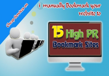 manually submit your blog or website to 15 High PR8 P...