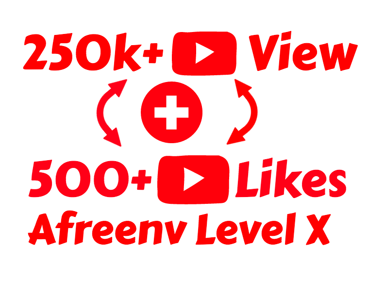 I will add Fast 250K Youtube Views and 500+ Youtube Likes