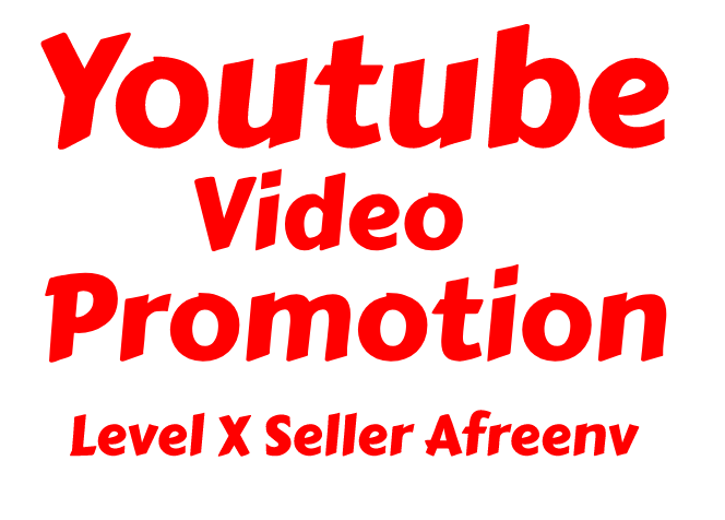 HIGH QUALITY YOUTUBE VIDEO PROMOTION 2k & Free 100 THUMBS UP