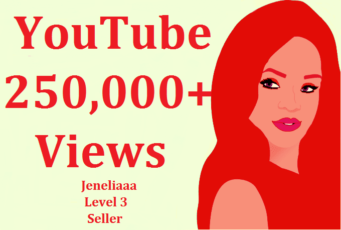 I will add 250,000 Safe View on your video