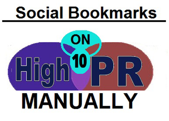 MANUALLY Bookmark your SITE in TOP 20 PR8 to PR4 Social bookmarking sites - Full Report