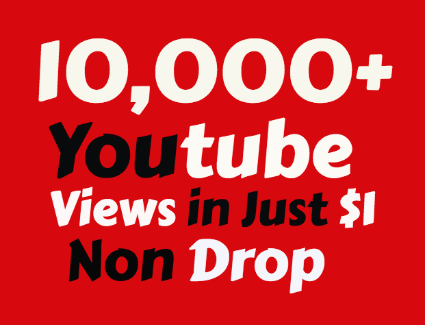 Add Super Fast 50,000+ High Quality Youtube view's