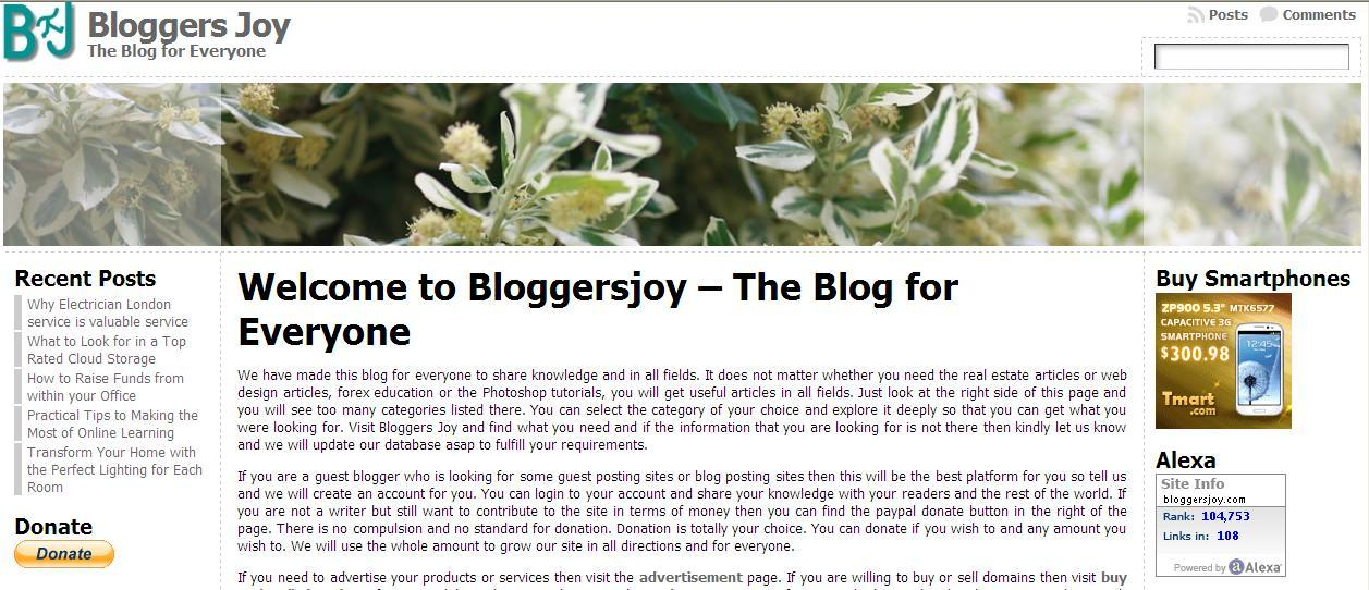 I can write an article or webpage