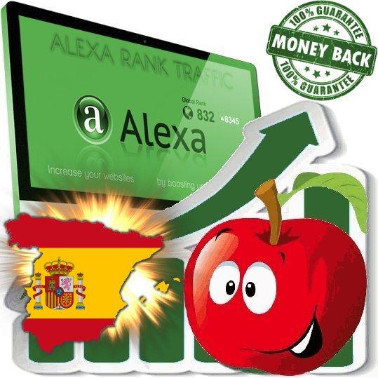 Increase your spanish Alexa Rank Spain