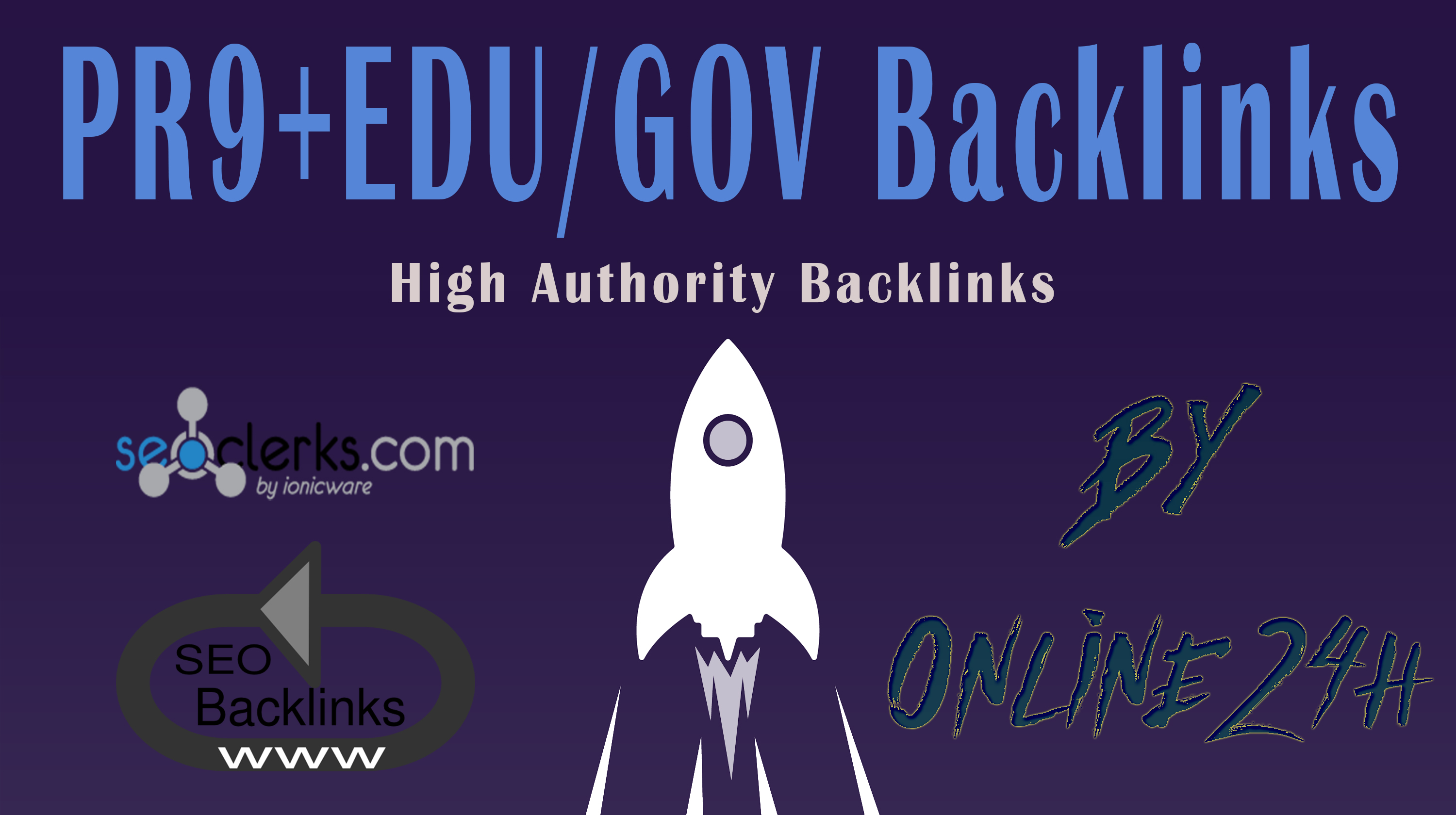 40+ PR9 + 10+. EDU/. GOV Backlinks From Authority Domains only