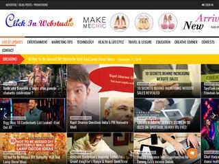 Click in webstudio