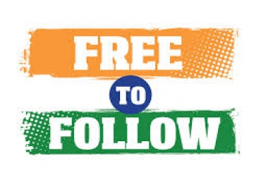 Follow Me and Get FREE Services eXclusive