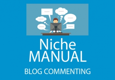 I will Do 50 Niche Blog commenting Backlink in 5