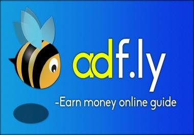 adfly shorten url click traffic service