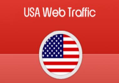 website traffic target USA 200,000 visitors needed 10