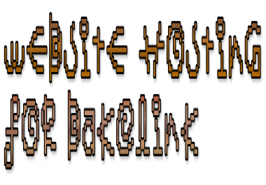 A homepage Backlink on your Site in exchange for free hosting