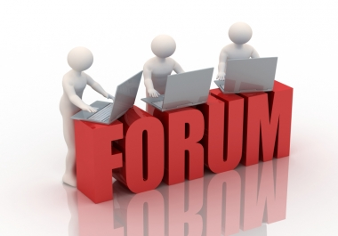 Need 500 forum posts to my forum