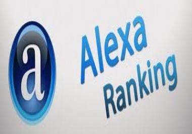 I needed 50k Alexa Ranking