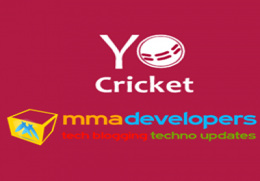 Need a Cricket Website like vCricket. com or cricwaves. com