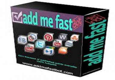 need addmefast points instantly
