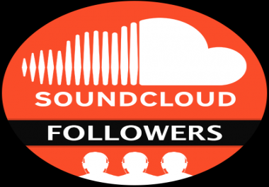 2000+ High Quality Active SoundCloud Followers
