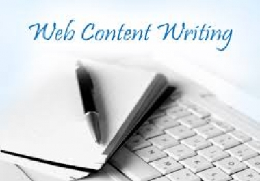 Web Content Writer Needed