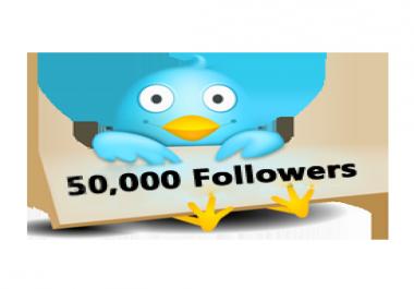 50K twitter followers