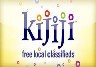 Post to Kijiji ads daily