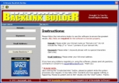 Need best Pc software for seo friendly backlinks traffic