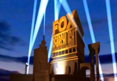Personalize Fox Movie Intro Logo video