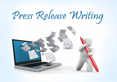I am looking for a press release content writer Daily basis work