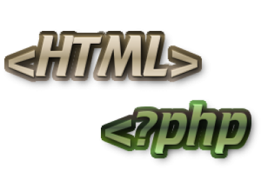 Expert for HTML and PHP for test