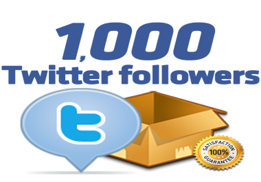 1,000 twitter followers within 12 hours