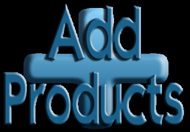 Add 50 Products to Woocomerce wordpress