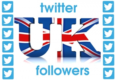 1000 HQ UK twitter followers