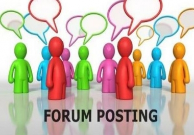 40 Relevant Forum Threads With Link To My Website
