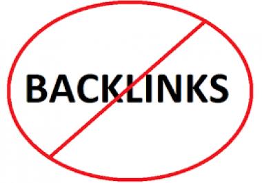 5 High pr dofollow indexed backlinks