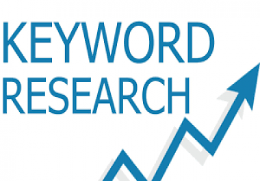 Key word Research for a new Website