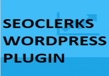 Need SeoClerks Premium AFFILIATE Plugin for Wordpress
