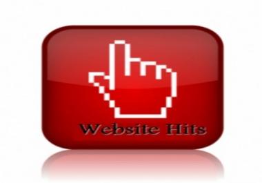 Visits to a website ajax link