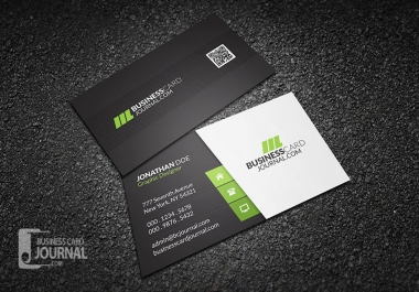 2 sided professional business card