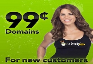 Get a domain registered and transferred to my godaddy account