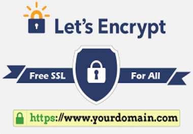 Install Let's Encrypt - Free SSL/TLS Certificates