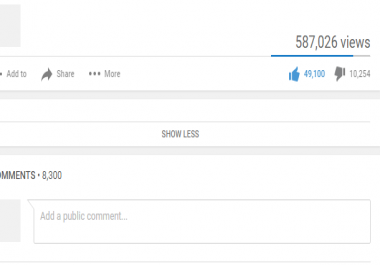 300 likes youtube in 24 hrs