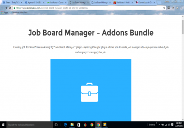 Job Board Manager Addons Bundle Wordpress plugins