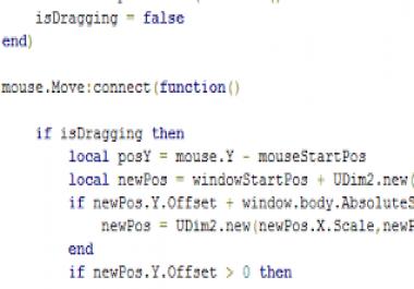 ROBLOX Game Development - Custom Script