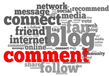 50 niche related blog comments