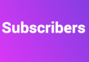 400 YouTube Subscribers Real Non Drop