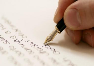Article Writing job bid now