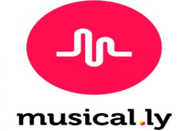 1 million musical. ly followers & likes