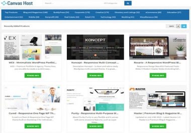 I need a wordpress theme for