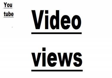 views for video quickly need