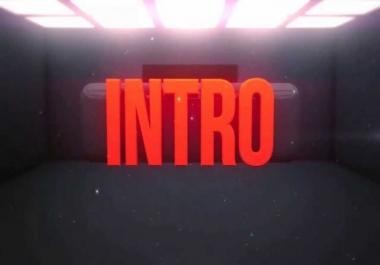 Unique custom made Video Intro & Outro.