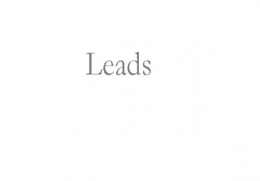 Need Leads for a SEO events